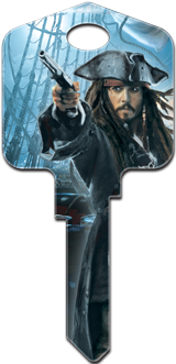 Captain Jack Sparrow Key