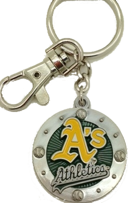 Oakland As Keychain