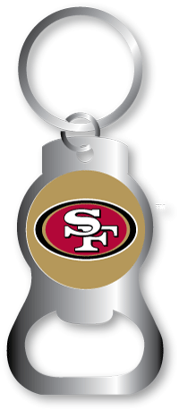 san francisco 49ers bottle opener