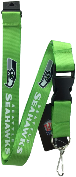 Seattle Seahawks Green Lanyard